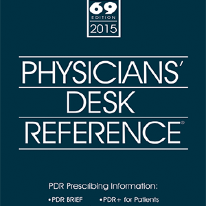 Physicians Desk Reference 2015- PDR69