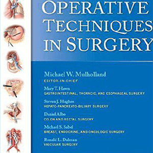 Operative Techniques in Surgery 2014