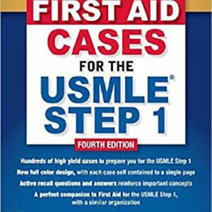 First Aid Cases USMLE Step1 2019