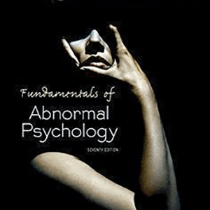 ABNORMAL PSYCHOLOGY 2014