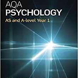 AQA Psychology: AS and A-level Year 2015